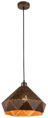 Globo Ruby rust hanglamp