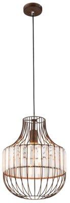 Globo Grace rust medium hanglamp