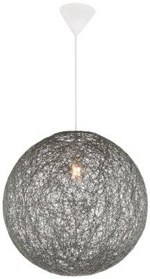 Globo Coropuna grey large hanglamp