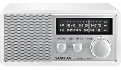 Sangean WR-11 wit radio