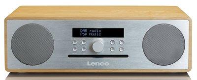 Retourkansje | Lenco DAR-070 Oak/Silver DAB+ radio