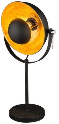 Globo Xirena black tafellamp