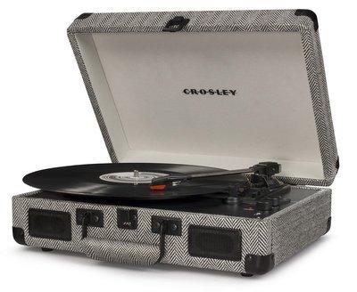 Crosley Cruiser Deluxe herringbone platenspeler