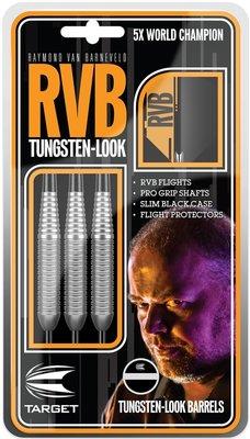 Target Tungsten-look van Barneveld steeltip dartpijlen