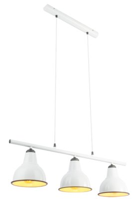 Globo Retro white trio hanglamp