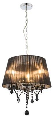 Globo Lani black hanglamp