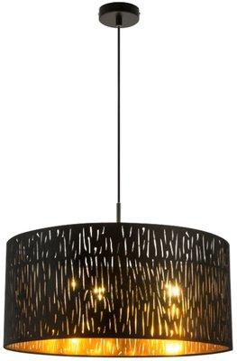 Globo Tuxon black medium hanglamp