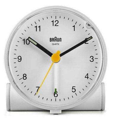 Braun BC01W wit 7 cm wekker