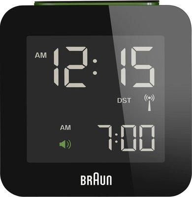 Braun BNC008 zwart 6 cm radiogestuurde wekker