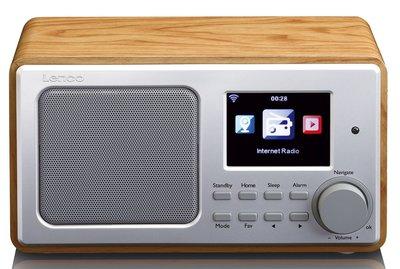 Lenco DIR-100 hout internetradio