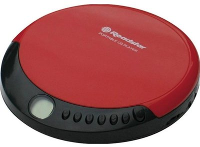 Roadstar PCD435 discman rood