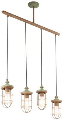 Globo Teru four lamp holders hanglamp