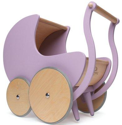 Kinderfeets Pram poppenwagen roze