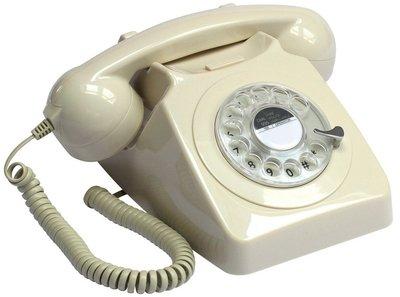 GPO 746 Rotary ivoor klassieke telefoon