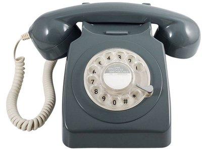 GPO 746 Rotary grijs klassieke telefoon