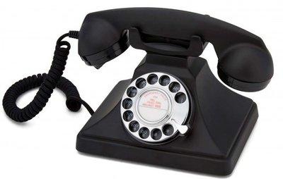 GPO 200 Rotary zwart klassieke telefoon