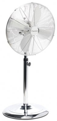 Bestron DFS45S staande ventilator chroom 40 cm