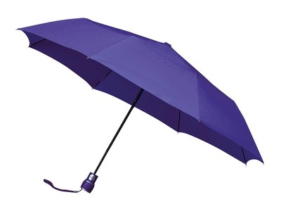 miniMAX Automatic windproof opvouwbare paraplu paars