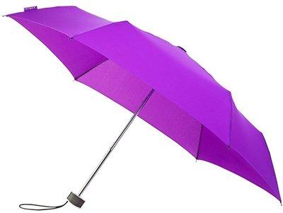 miniMAX Flat opvouwbare windproof paraplu paars