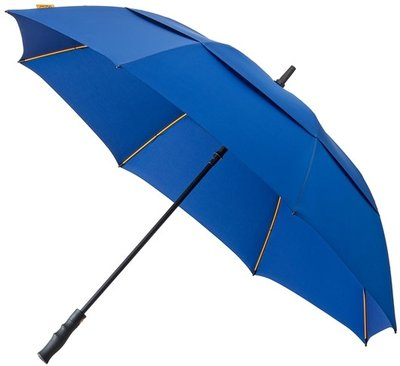 Falcone Robuust windproof golfparaplu blauw