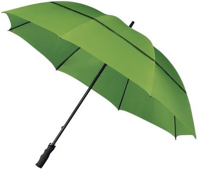 Falcone windproof eco golfparaplu groen