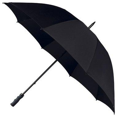 Falcone windproof golfparaplu zwart
