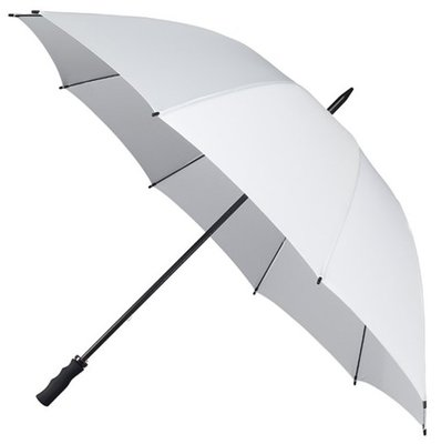 Falcone windproof golfparaplu wit