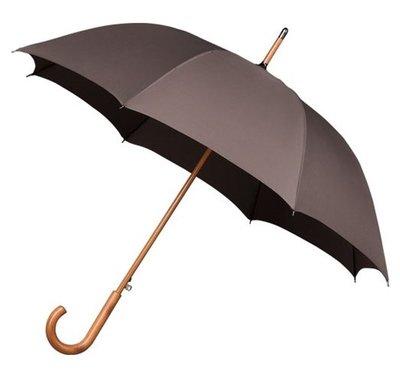 Falcone Deluxe windproof paraplu bruin