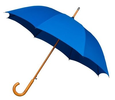 Falcone Deluxe windproof paraplu blauw