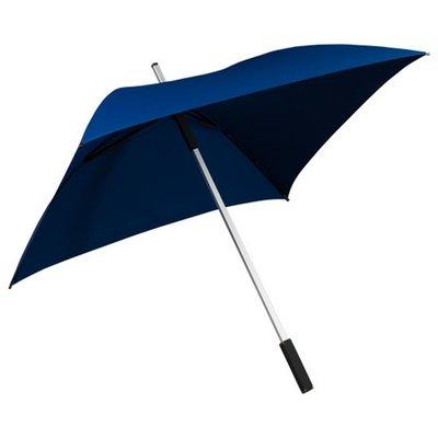 Falcone All Square vierkante paraplu donkerblauw