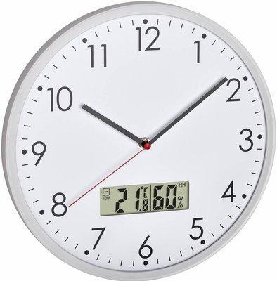 TFA Natural White Hygrometer 30.2 cm klok