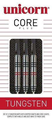 Unicorn Core Plus 70% Tungsten steeltip dartpijlen