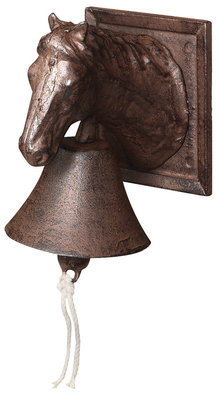 Esschert Design DB31 paardenkop deurbel