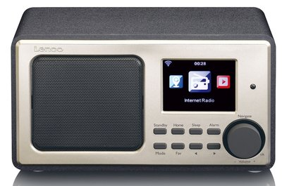 Lenco DIR-100 zwart internetradio