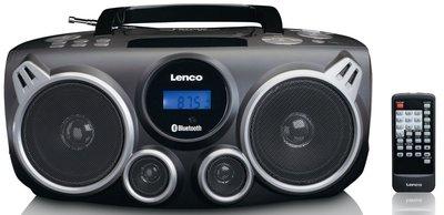 Lenco SCD-100BK draagbare radio