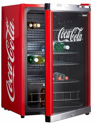 Scancool HighCube Coca Cola koelkast (115 liter)
