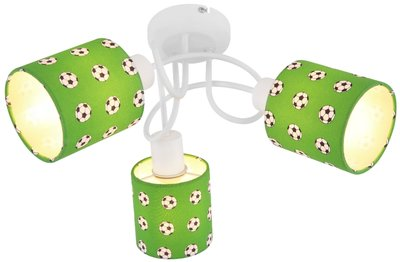 Globo Lemmi football three lamp holders plafondlamp