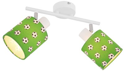 Globo Lemmi football two lamp holders plafondlamp