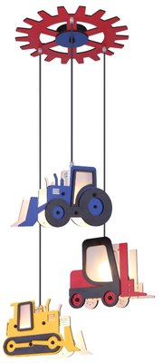 Globo Construction machines hanglamp