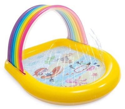 Intex Rainbow Spray Pool kinderzwembad
