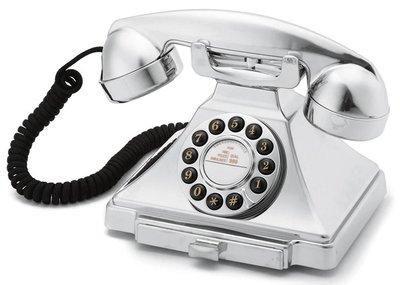 GPO 1929S Carrington chroom klassieke telefoon