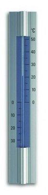 TFA Aluminium Blue analoge thermometer