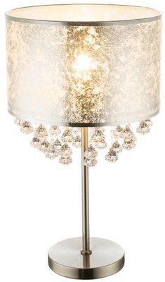 Globo Amy ornament silver tafellamp