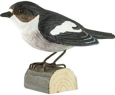 Wildlife Garden Bonte Vliegenvanger uit hout