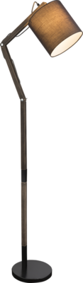 Globo Mattis grey vloerlamp 172 cm