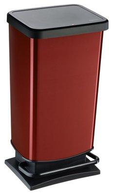 Rotho Paso rood pedaalemmer 40 liter