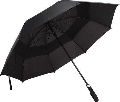 Felpudo Storm windproof golfparaplu zwart