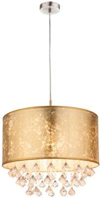Globo Amy gold deco crystals hanglamp