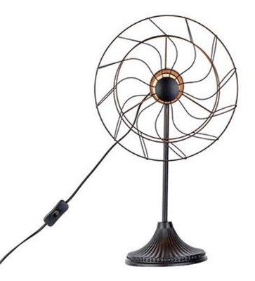 Cosy ventilator tafellamp