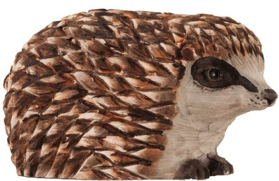 Wildlife Garden Egel uit hout